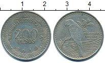 Изображение Дешевые монеты Колумбия 200 песо 2012 Медно-никель XF-