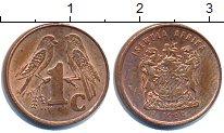 Изображение Барахолка ЮАР 1 цент 1999 Медь
