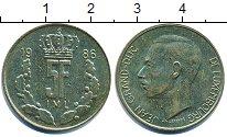 Изображение Дешевые монеты Люксембург 5 франков 1986 Медно-никель VF