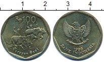 Изображение Барахолка Индонезия 100 рупий 1995 Медно-никель XF+