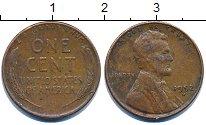 Изображение Барахолка США 1 цент 1952 Медь VF