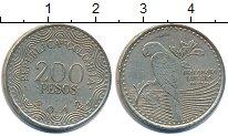 Изображение Дешевые монеты Колумбия 200 песо 2012 Медно-никель XF