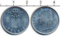 Изображение Дешевые монеты Бельгия 1 франк 1978 Медно-никель XF-
