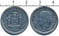 Изображение Барахолка Ямайка 5 долларов 1994 Медно-никель XF-