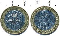 Изображение Дешевые монеты Чили 100 песо 2015 Биметалл XF