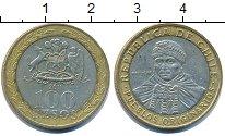 Изображение Дешевые монеты Чили 100 песо 2011 Биметалл XF