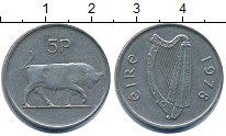 Изображение Барахолка Ирландия 5 пенсов 1978 Медно-никель XF