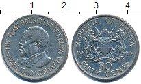 Изображение Барахолка Кения 50 центов 1969 Медно-никель XF