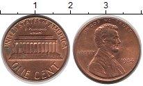 Изображение Барахолка США 1 цент 1984 медь, олово, цинк VF-