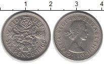 Изображение Барахолка Великобритания 6 пенсов 1966 Медно-никель XF+