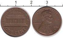 Изображение Барахолка США 1 цент 1976 медь, олово, цинк XF-