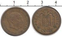 Изображение Дешевые монеты Испания 1 песета 1953 Бронза VF-