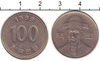 Изображение Дешевые монеты Южная Корея 100 вон 1999 Медно-никель XF
