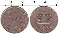 Изображение Дешевые монеты Норвегия 1 крона 1985 Медно-никель XF-