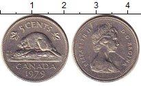 Изображение Дешевые монеты Канада 5 центов 1979 Медно-никель XF
