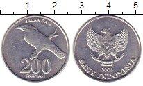 Изображение Барахолка Индонезия 200 рупий 2003 Алюминий XF-