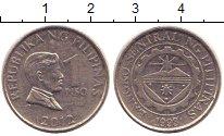 Изображение Дешевые монеты Филиппины 1 писо 1993 Медно-никель VF