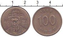 Изображение Дешевые монеты Тайвань 100 юаней 1988 Медно-никель VF