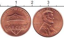 Изображение Барахолка США 1 цент 2016 Бронза XF