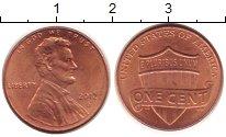 Изображение Барахолка США 1 цент 2012 Бронза XF