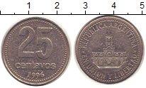 Изображение Барахолка Аргентина 25 сентаво 1996  XF-