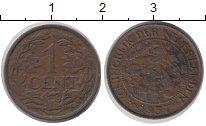 Изображение Дешевые монеты Нидерланды 1 цент 1937 Бронза VF+