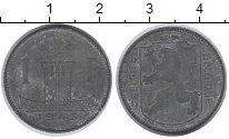 Изображение Дешевые монеты Бельгия 1 франк 1943 Цинк VF+