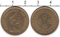 Изображение Барахолка Гонконг 5 центов 1979 Латунь-сталь XF