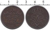 Изображение Дешевые монеты Швеция 5 эре 1949 Бронза VF