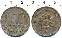 Изображение Дешевые монеты Чили 100 песо 1997 Медно-никель XF