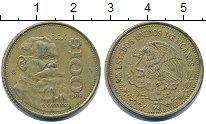 Изображение Дешевые монеты Мексика 100 песо 1989 Латунь XF