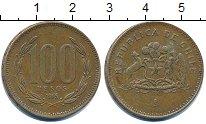 Изображение Дешевые монеты Чили 100 песо 1995 Медь XF