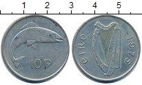 Изображение Барахолка Ирландия 10 пенсов 1975 Медно-никель XF