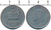 Изображение Барахолка Норвегия 1 крона 1975 Медно-никель XF
