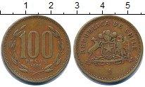 Изображение Дешевые монеты Чили 100 песо 1989 Медь XF