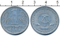 Изображение Дешевые монеты ГДР 1 марка 1956 Алюминий VF