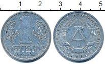 Изображение Барахолка ГДР 1 марка 1956 Алюминий VF