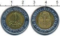 Изображение Барахолка Египет 1 фунт 2010 Биметалл XF