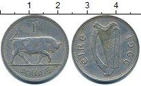 Изображение Барахолка Ирландия 1 шиллинг 1966 Медно-никель XF