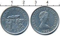 Изображение Барахолка Остров Джерси 10 пенсов 1992 Медно-никель XF-