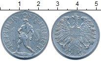 Изображение Дешевые монеты Австрия 1 сольдо 1946 Алюминий VF