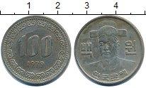 Изображение Дешевые монеты Южная Корея 100 вон 1979 Медно-никель XF-