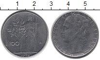 Изображение Дешевые монеты Италия 100 лир 1979 Сталь XF-