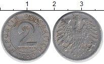 Изображение Дешевые монеты Австрия 2 гроша 1950 Алюминий VF