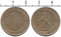 Изображение Дешевые монеты Финляндия 1 марка 1994 Бронза XF-