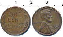 Изображение Барахолка США 1 цент 1958 Медь VF+
