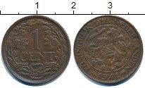 Изображение Барахолка Нидерланды 1 цент 1941 Медь XF-