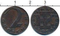 Изображение Дешевые монеты Австрия 2 гроша 1925 Медь VF