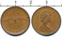 Изображение Барахолка Канада 1 цент 1967 Медь XF