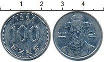 Изображение Дешевые монеты Южная Корея 100 вон 1995 Медно-никель XF